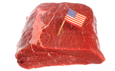 product of USA meat
