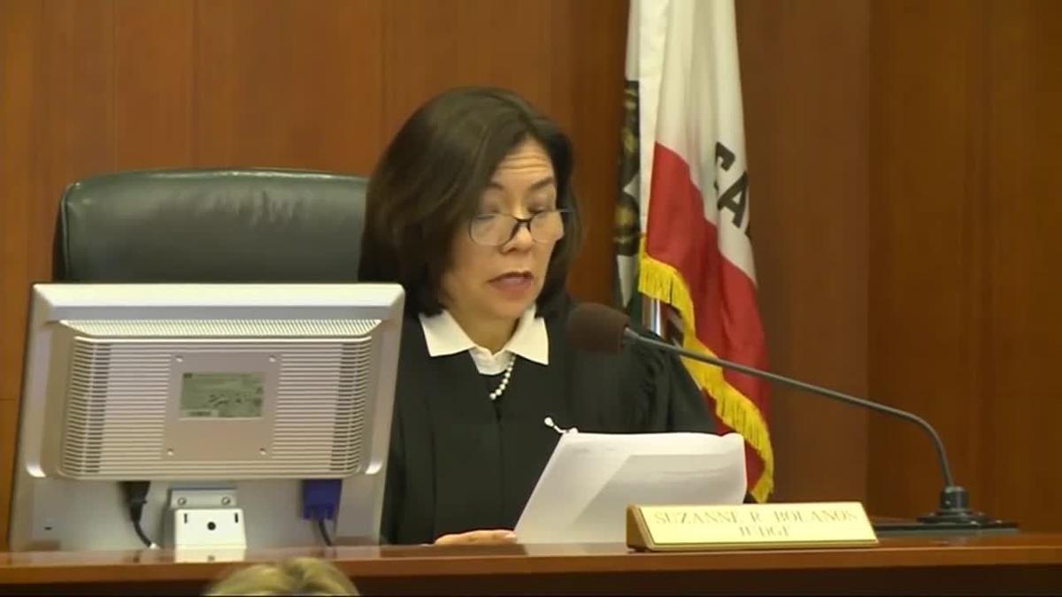 San Francisco Superior Court Judge Suzanne Bolanos