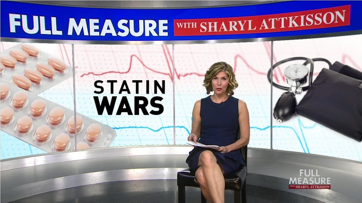 Full Measure Sharyl attkisson statin wars