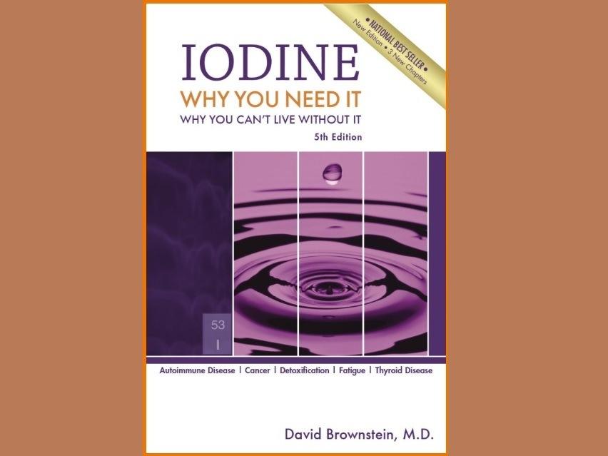 Iodine Book Dr. Brownstein FB