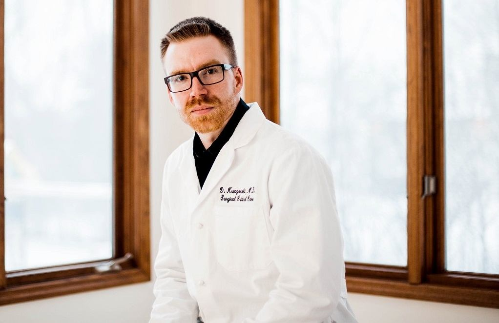 "Dr. Douglas Kwazneski is a burn and trauma surgeon at Spectrum Health in Grand Rapids, Mich. Dr. Kwazneski started an investigation in medical device malfunctions when he wrote a paper for the academic journal ""Surgical Endoscopy.""  Date shot: 3/5/19"