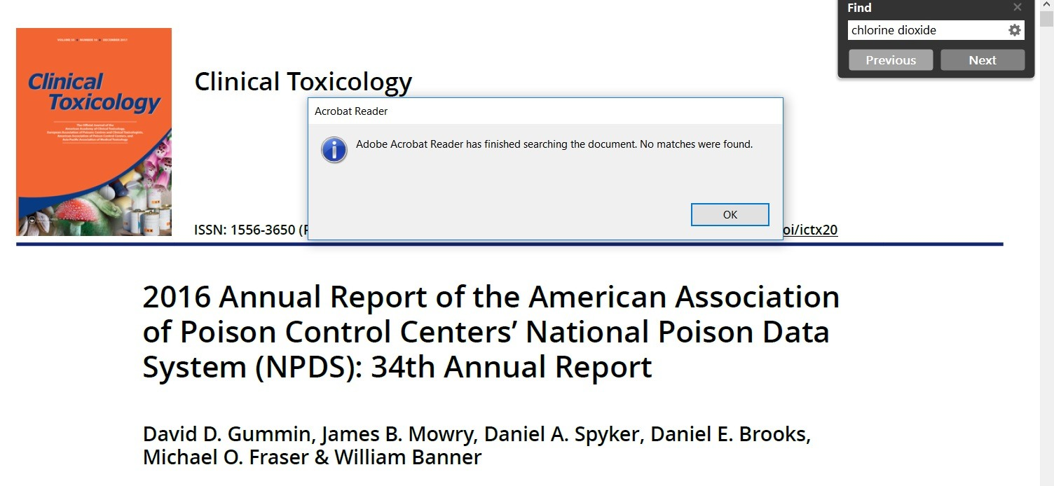 AAPCC 2016 report search