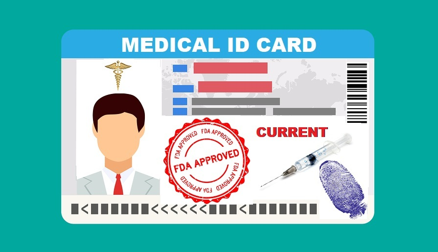 Medical Id card
