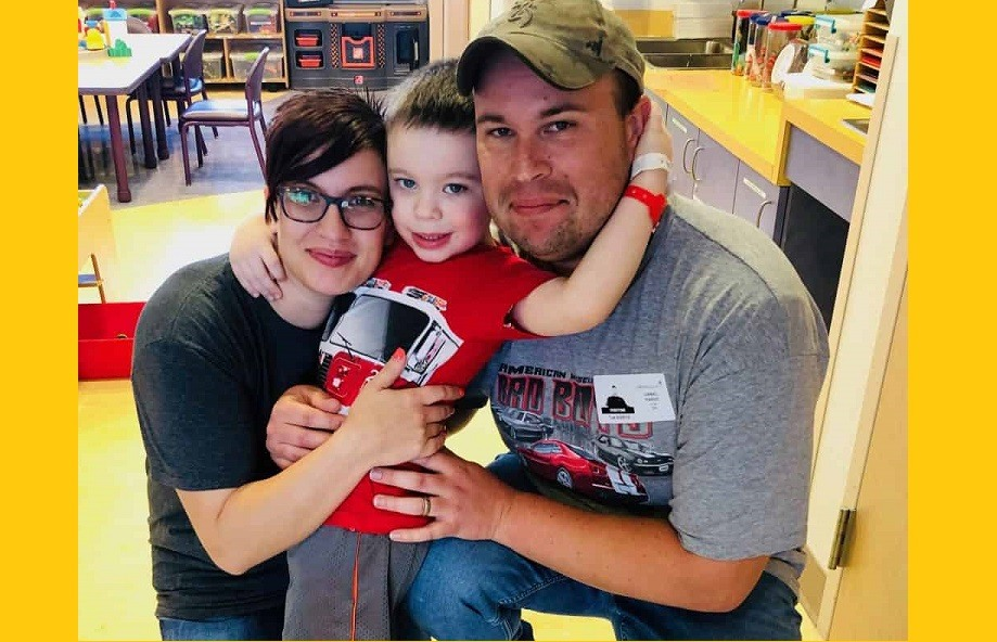 Pardo family visit FB