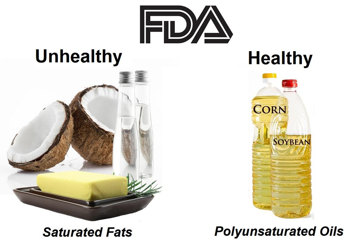 FDA-traditional-fats-coconut-oil-butter-refined-soybean-corn