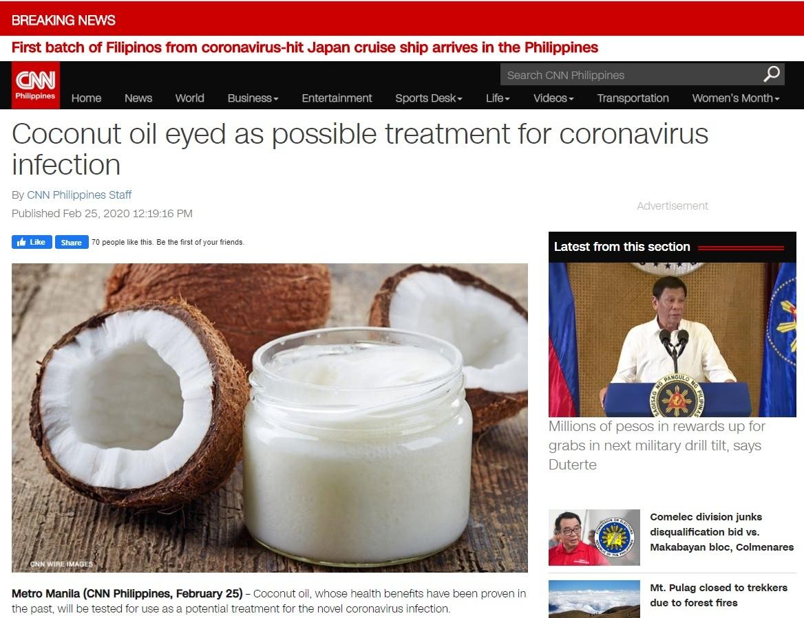 CNN-Philippines-coconut-oil-coronavirus
