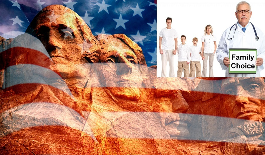 Mount Rushmore - Sculpture With Faces Of Four American President