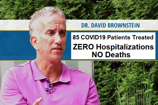 "COVID19 UPDATES - The Strange Reported Symptoms Of COVID19 Like 'Fizzing' And ""Electric Shocks' plus MORE Dr.-brownstein-COVID-treatment"