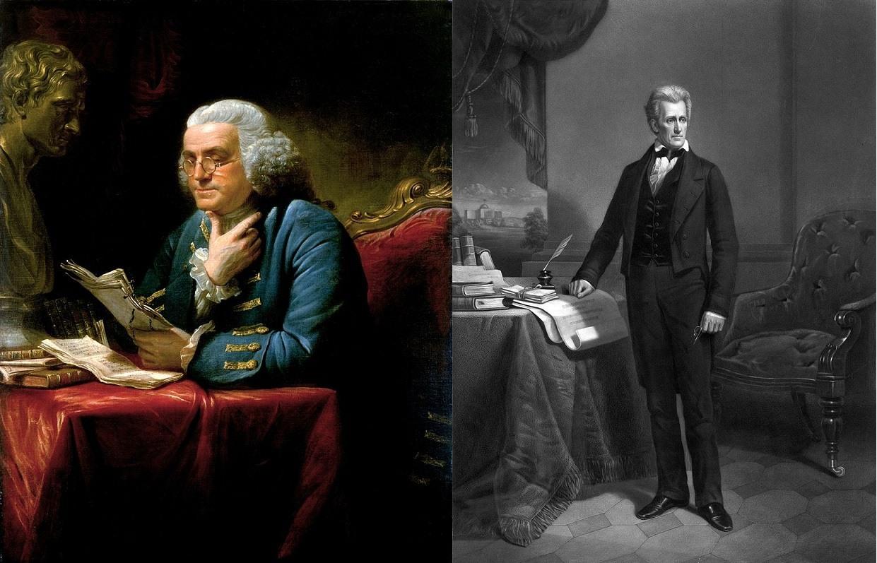 Benjamin_Franklin_Andrew_Jackson