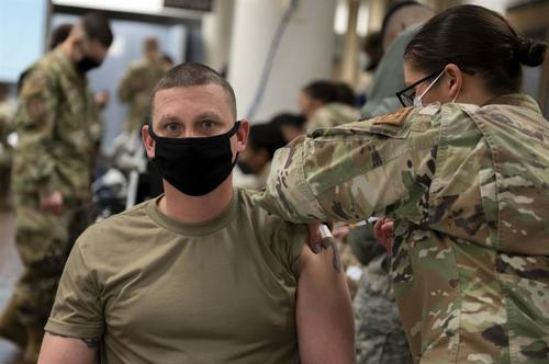 U.S. Troops In S. Korea First To Receive Mass Experimental COVID Vaccination Korea-Forces-COVID-vaccines