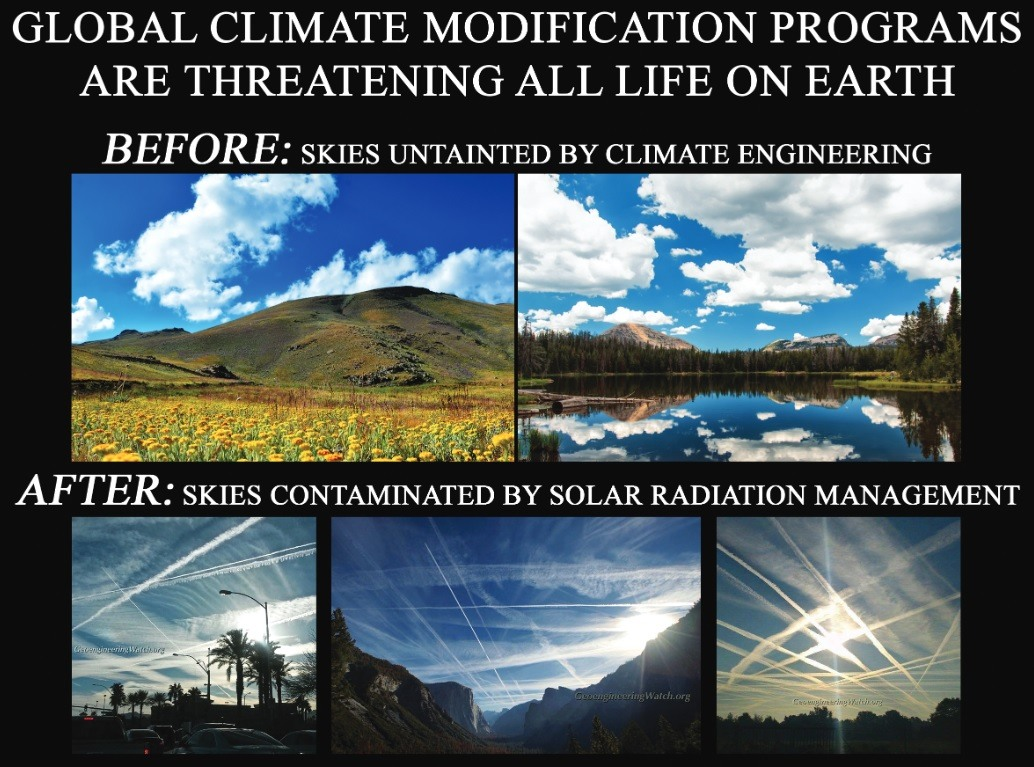 Why Does Bill Gates Want to Dim the Sun???  Global-Climate-Modification