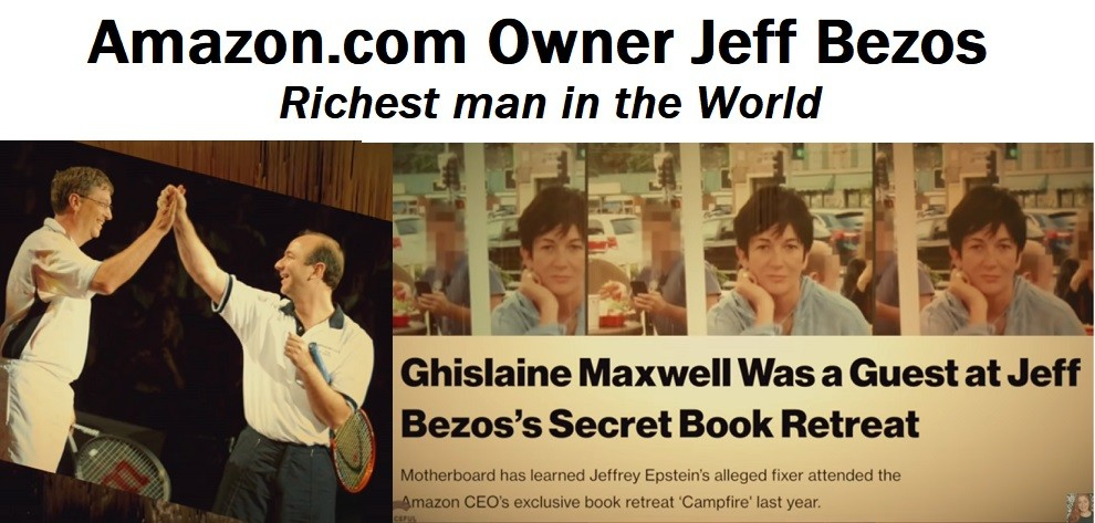 Jeff Bezos Bill Gates Ghislane Maxwell