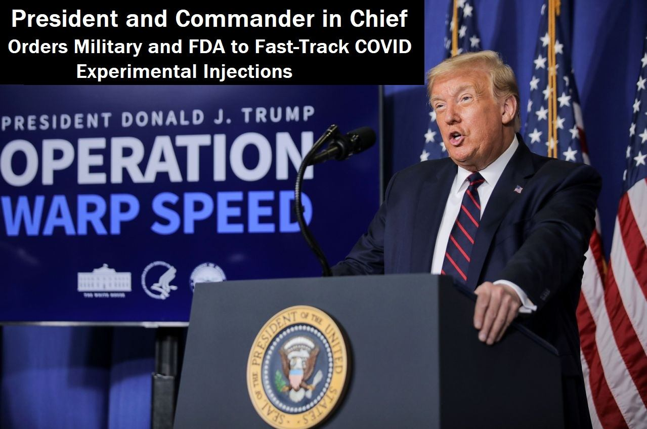 181 Dead in the U.S. During 2 Week Period From Experimental COVID Injections Trump-Warp-Speed2