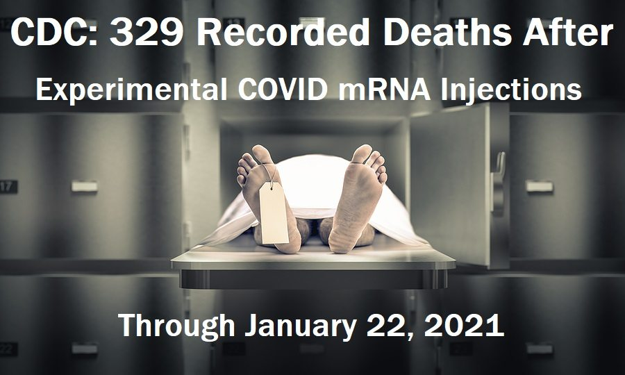 CDC: 329 Recorded Deaths So Far Following Experimental COVID mRNA Injections in the U.S. Dead-people-morgue-1.22.21