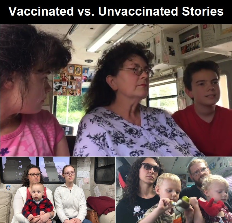 vaccinated vs. unvaccinated stories