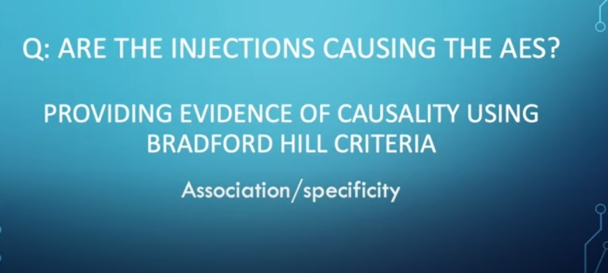 Are the injections causing the AES