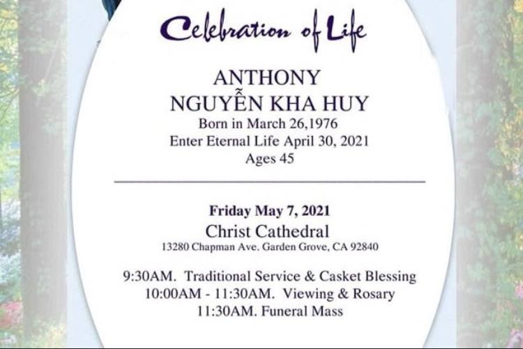 Fatalities Climbing Anthony-funeral-notice