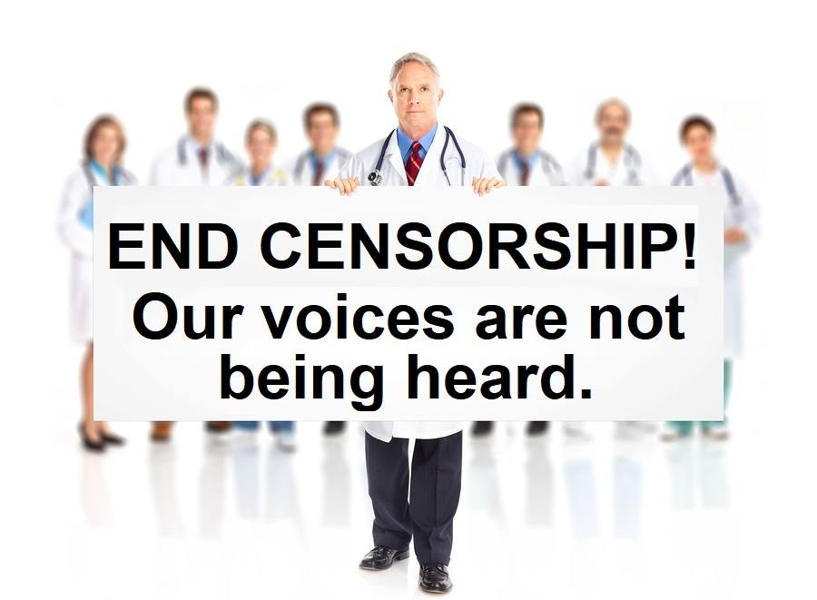 End censorship our voices are not being heard