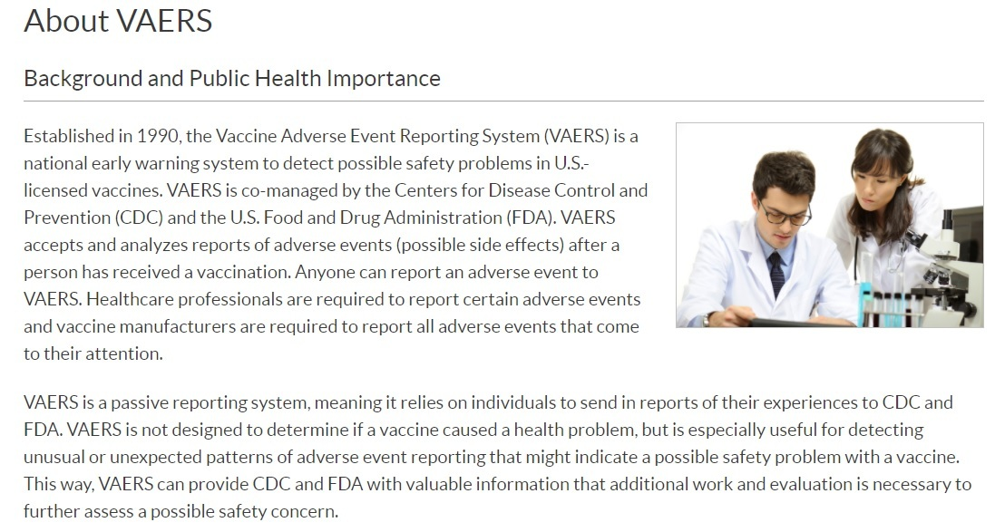 """CDC's Own Stats Show a """"Pandemic of the Vaccinated"""" with Vaccine Injuries About-VAERS"""
