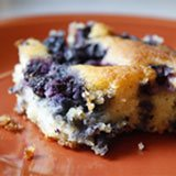 Blueberry Pudding Cake Recipe Photo