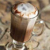 Coconut Cream Chocolate Latte Recipe Photo