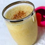 Coconut Eggnog Smoothie Recipe Photo