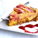 Easy Mango Blackberry Swirl Ice Cream Pie Recipe Photo