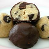 Chocolate Chip Cookie Dough Truffles Recipe Photo