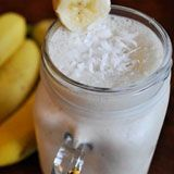 Coconut Banana Colada Smoothie Recipe Photo