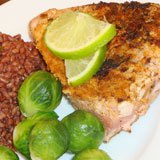 Coconut Lime Tuna Steaks Recipe Photo
