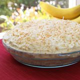 Coconut Banana Cream Pie Recipe Photo