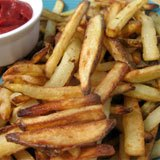 Crispy Coconut Oil French Fries Recipe Photo