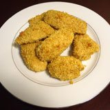 Curried Coconut Chicken Fingers Recipe Photo