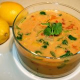 Gluten Free Creamy Coconut Lentil Soup Recipe Photo