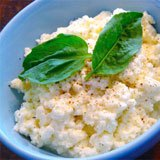 Homemade Coconut Vinegar Ricotta Recipe Photo