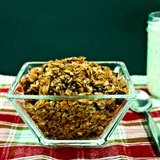 Homemade Fruit and Nut Granola with Chia Seeds and Coconut Recipe Photo