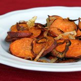 Spicy Roasted Sweet Potatoes Recipe Photo