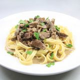 Coconut Grass-fed Beef Stroganoff Recipe Photo