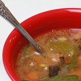 Feel-Good Cold Weather Soup with Coconut Oil Recipe Photo